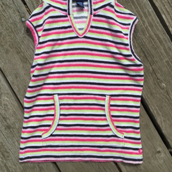 Limited Too Other - Kids striped hooded vest